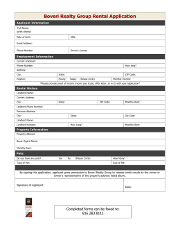 Rental Application(1) - DowntownKCLiving.com