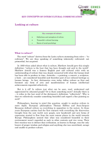 key concepts of intercultural communication