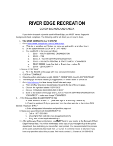 river edge recreation - River Dell Soccer Association