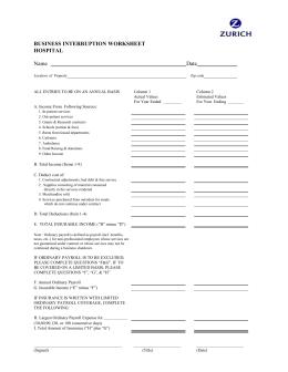 Worksheets Business Interruption Worksheet mohs surgery consent form business interruption worksheet