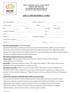 adult prp referral form