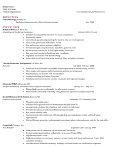 Resume - bunch of babble