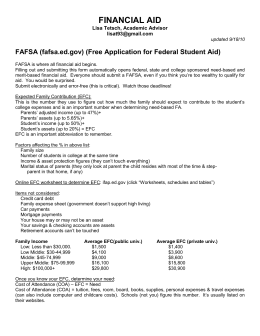 financial aid - Enrichment Classes of Carrollton