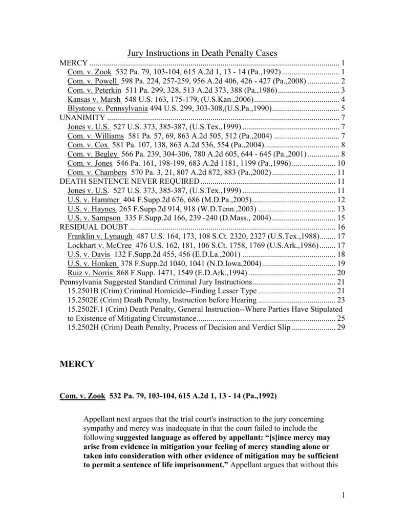 Pennsylvania Suggested Standard Criminal Jury Instructions