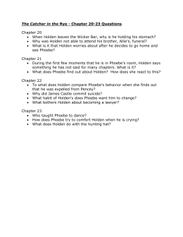 catcher in the rye discussion questions chapter 10