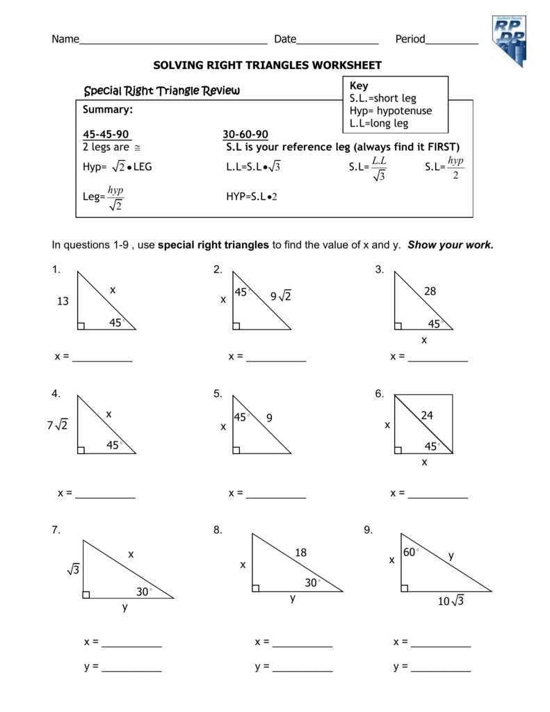 Worksheet 9A- part 2
