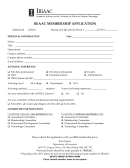 Printable 2015-2016 Membership Form