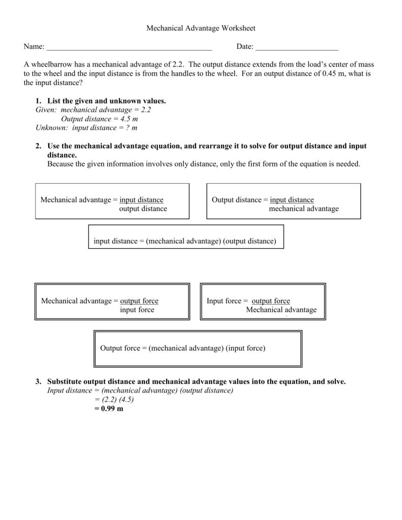 Worksheets Mechanical Advantage Worksheet 008637345 1 71a512b9bc614502169618e6c59bdaf8 png