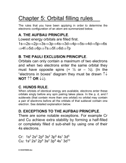 Chapter 5 review worksheets answers worksheet 24 orbital filling rules ccuart Image collections