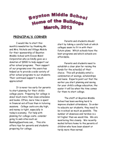 Newsletter March 2013 - Mascenic Regional School District