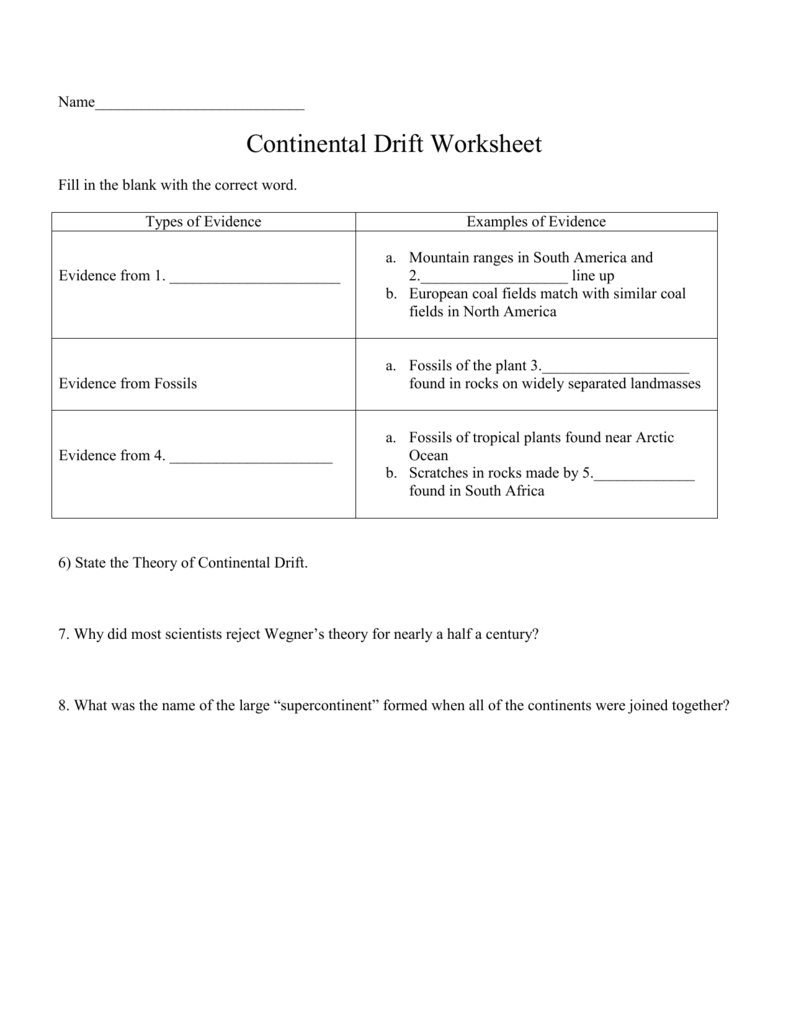 Worksheets Continental Drift Worksheet 008640534 1 f07e814299ac701437ec48ab54f7a5e8 png