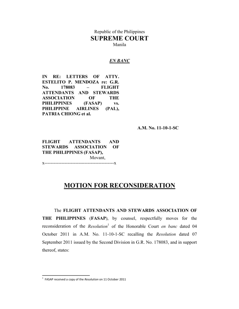 supreme court motion for reconsideration