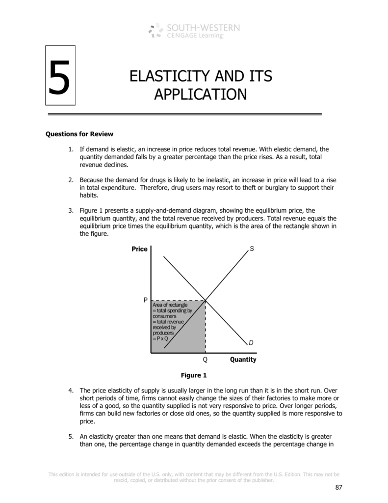 5 Elasticity And Its Application