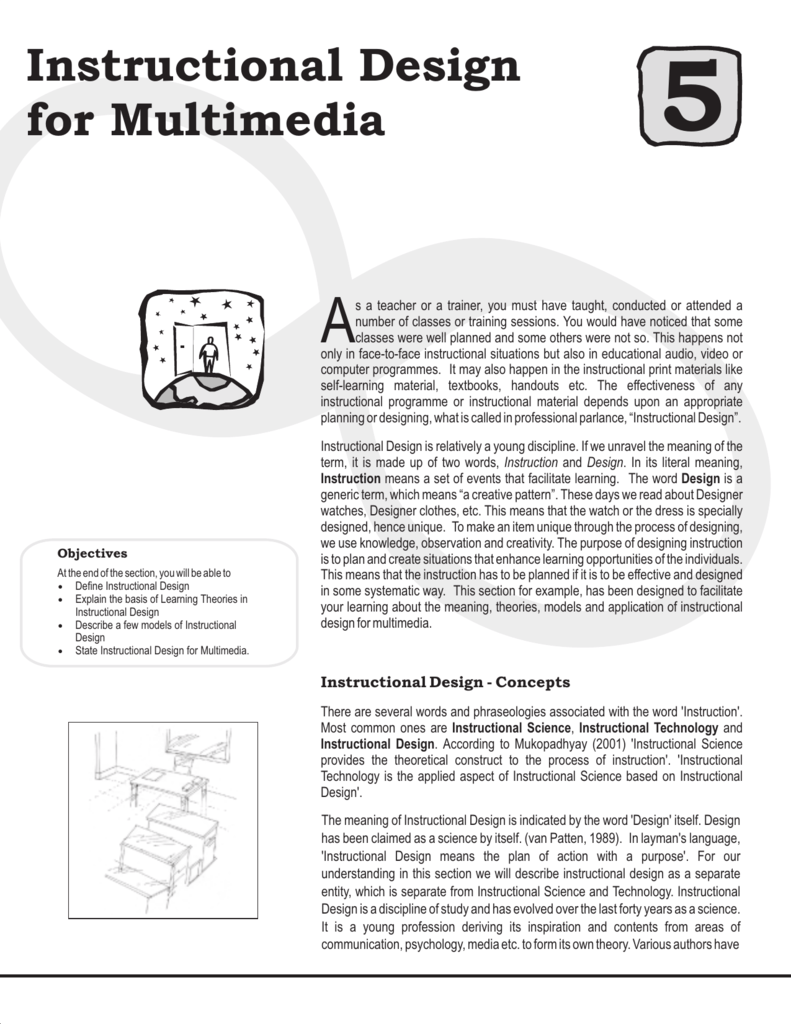 Instructional Design For Multimedia
