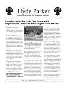 Hyde Parker - Hyde Park Neighborhood Association