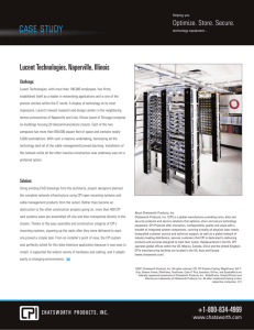 Case Study: Lucent Technologies