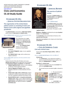 Civics and Economics CE.10 Study Guide