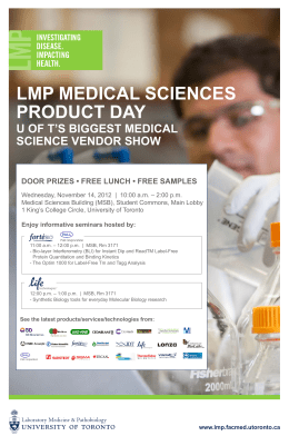 lmp medical sciences product day