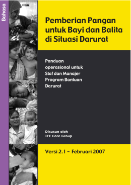 OpsG 2.1 Bahasa_feb07:Operational guidance 2