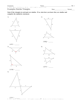 Infinite Geometry - 6.2 ~ Similar Triangle Theorems