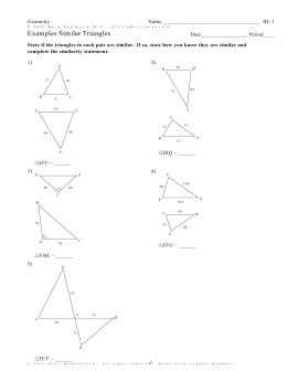 Infinite Geometry - 12-8 Proving similar triangles