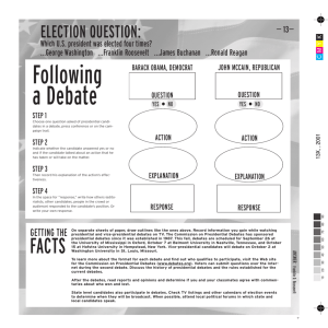 Debate Activity Worksheets