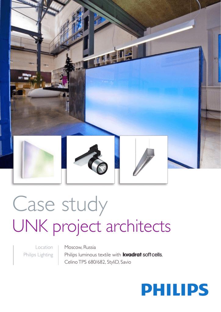 Case study - Philips Large Luminous Surfaces