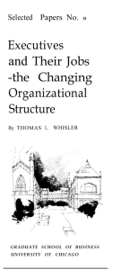 the Changing Organizational Structure