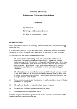 instructional developer job description