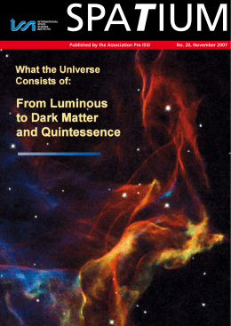 From Luminous to Dark Matter and Quintessence