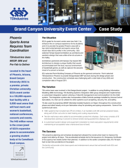 Case Study Grand Canyon University Event Center