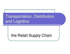 Walmart Distribution Module Introduction to Supply Mgt PowerPoint