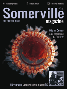 magazine - Somerville College