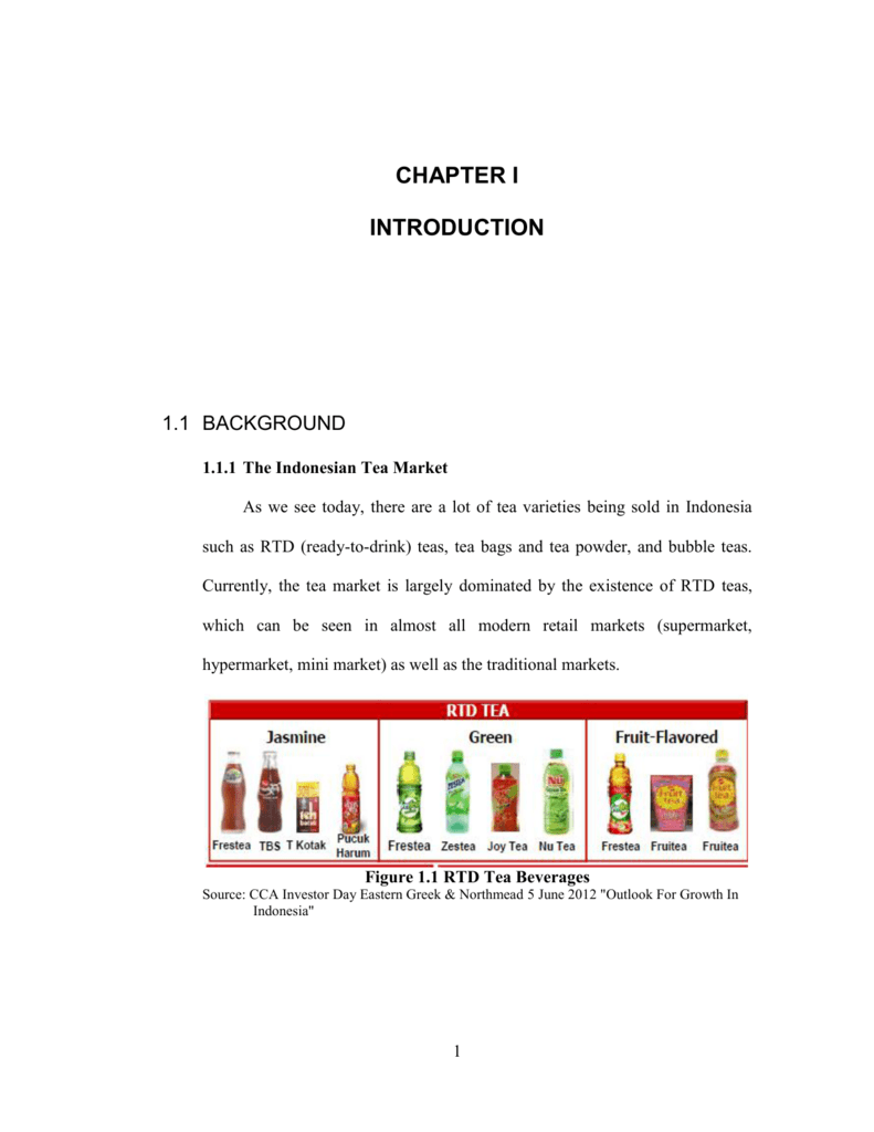 Chapter I Introduction