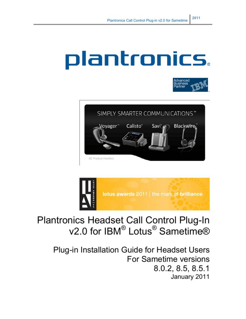 SoftPhone UC New Plantronics BUA-200 Bluetooth USB Dongle Adapter for Computer