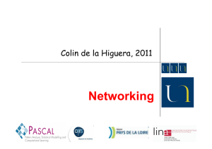Networking - Univ. Nantes