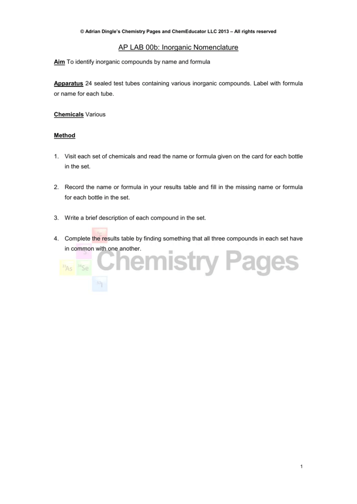 Simple acid base titration - Adrian Dingle's Chemistry Pages
