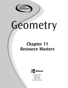 Chapter 11 Resource Masters