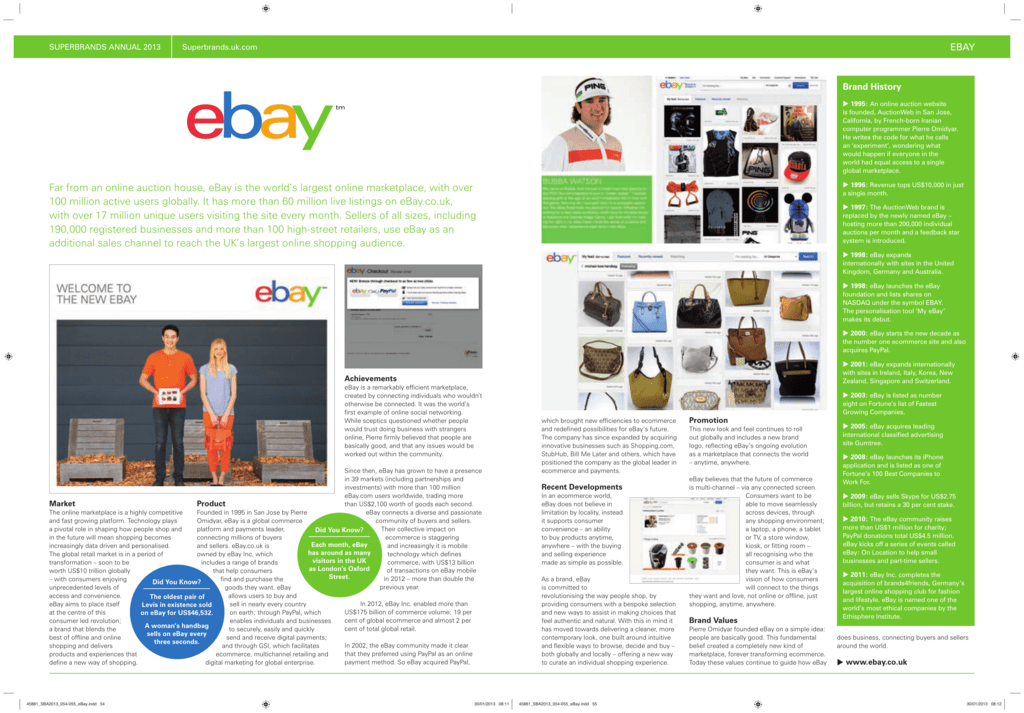 Far From An Online Auction House Ebay Is The World S