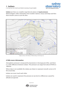 1. Isobars - Sydney Observatory