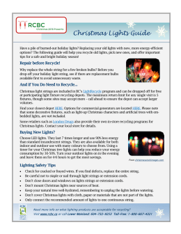 Christmas Lights Guide