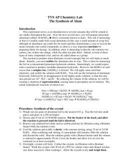 analysis of alum lab Document read online analysis of alum lab answers analysis of alum lab answers - in this site is not the similar as a solution manual you purchase in a lp stock.