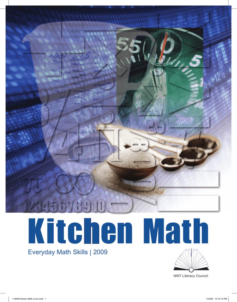 Workbooks everyday math workbook : Kitchen Math - NWT Literacy Council