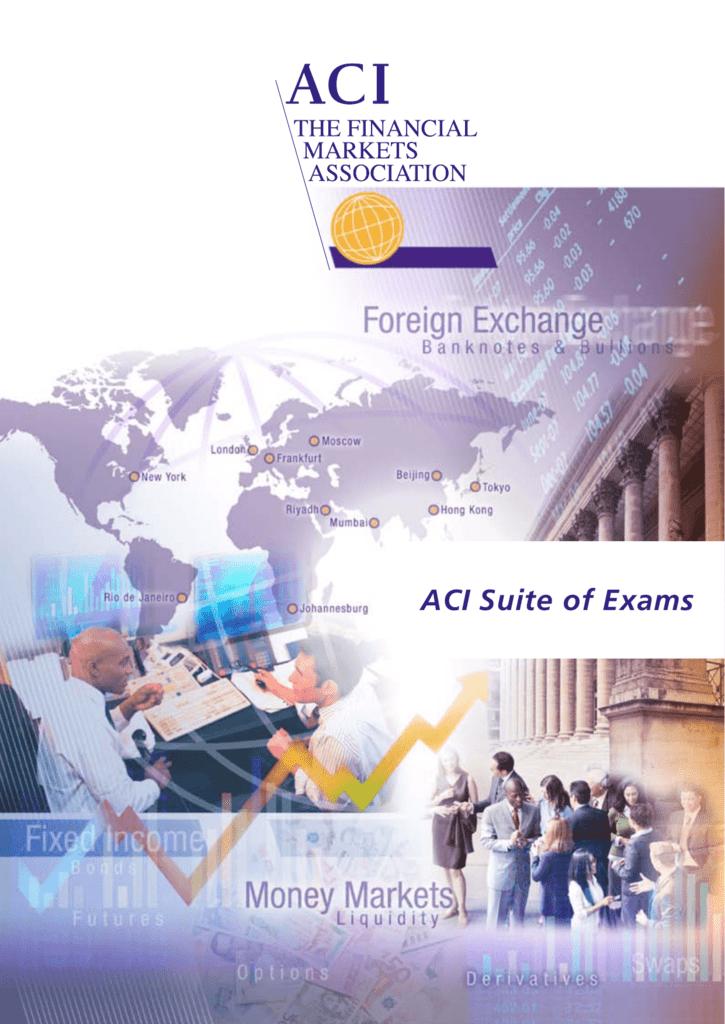 ACI | The Financial Markets Association