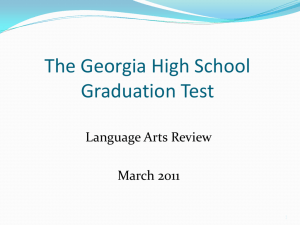 English/Language Arts Review