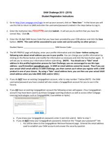 Purchasing SAM Access Code Online