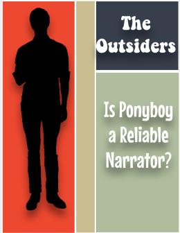 outsiders essay ponyboy