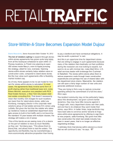 Store-Within-A-Store Becomes Expansion Model Dujour