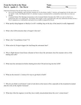 apollo 13 study guide rh studylib net