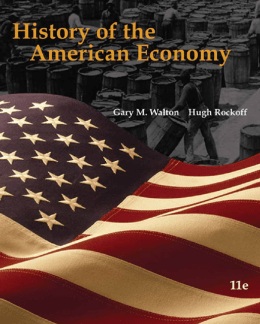 History of the American Economy, 11e